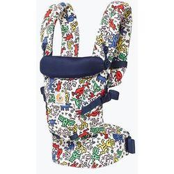 Ergobaby Adapt nosidełko Keith Haring Pop niebieskie/zielone ze wzorem