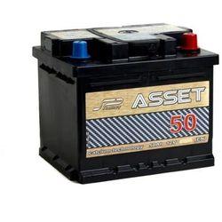 Akumulator ASSET 50Ah 420A EN PRAWY PLUS