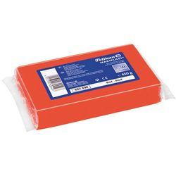 Plastelina do model Nakiplast czerwon 650g PELIKAN - czerwony