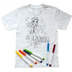 Koszulka z mazakami Elsa&Olaf, 5-6 lat