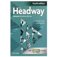 Książki do nauki języka, Headway 4E Advanced Workbook with Key and iChecker CD Pack (opr. miękka)
