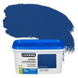 Farba wewnętrzna do ścian i sufitów EMULSJA 5 l Kobaltowa głębia LUXENS
