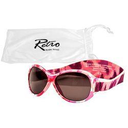 Okulary przeciwsłoneczne UV dzieci 2-5lat RETRO BANZ - Pink Camo