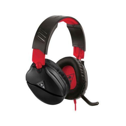 Pozostałe akcesoria do konsoli, Słuchawki TURTLE BEACH Recon 70N Czarno-czerwony
