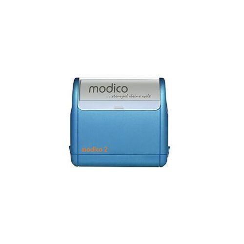 Stemple i akcjesoria, Pieczątka Samotuszujaca Modico 2 niebieska Pieczątka Samotuszujaca Modico 2 niebieska