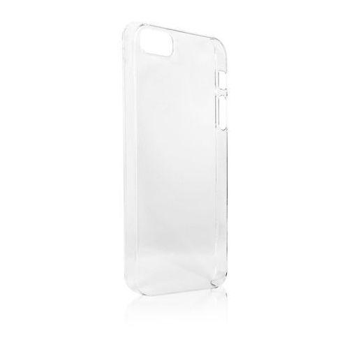 Etui i futerały do telefonów, Pokrowiec XQISIT iPlate Glossy (iPhone 5/5S) Transparentny