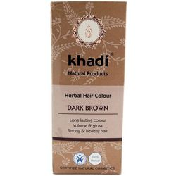 Khadi - CIEMNY BRĄZ Henna naturalna