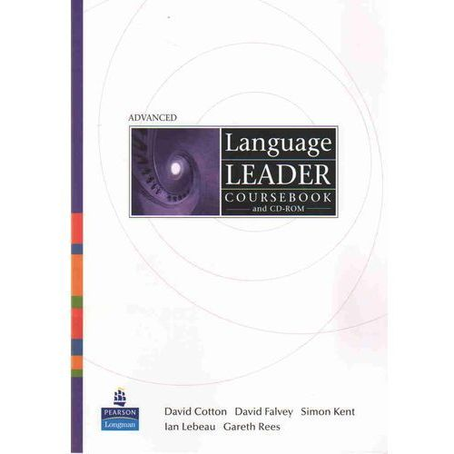 Książki do nauki języka, Language Leader Advanced SB + CD-ROM - Cotton David, Falvey David, Kent Simon (opr. miękka)