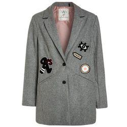 IKKS STREET SHINING Płaszcz wełniany /Płaszcz klasyczny gris chin anthracite