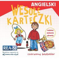 Książki do nauki języka, Angielski. Wesołe karteczki rodzina jedzenie ubrania - Praca zbiorowa (opr. miękka)