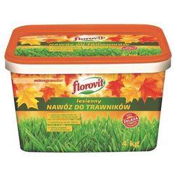 Nawóz Jesienny Florovit do trawinków 4 kg
