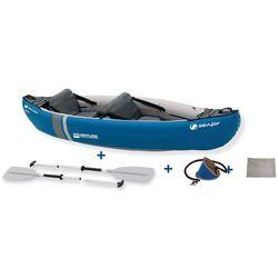 Sevylor Adventure Kit Kajak szary/niebieski 2019 Kajaki i canoe Przy złożeniu zamówienia do godziny 16 ( od Pon. do Pt., wszystkie metody płatności z wyjątkiem przelewu bankowego), wysyłka odbędzie się tego samego dnia.