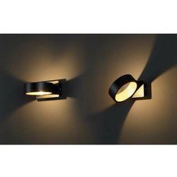 MAXlight Tokyo I W0167 Kinkiet lampa ścienna 1x4,5W LED czarny / złoty