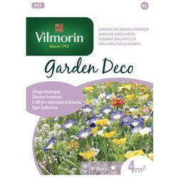 Kwiaty niskie długo kwitnące: Powój, Chaber, Nagietek 8g Garden Deco   Nasiona Garden Deco Vilmorin