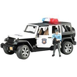 BRUDER Jeep Wrangler Rubicon policja