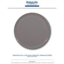 Hendi Talerz do pizzy Speciale porcelanowy szary 330 mm - kod Product ID