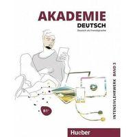 Książki do nauki języka, Akademie Deutsch B1+ T.3 + kurs online HUEBER - Praca zbiorowa (opr. broszurowa)