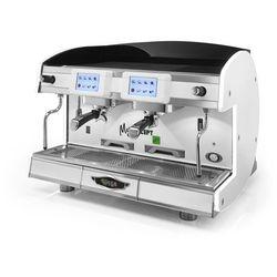 Ekspres do kawy 2-grupowy, elektroniczny, 8 l, biały | WEGA, My Concept