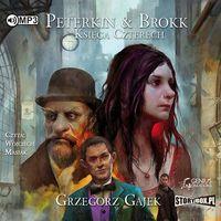 Audiobooki, Peterkin & Brokk. Księga Czterech audiobook - Grzegorz Gajek