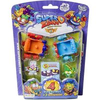 Figurki i postacie, MagicBox Super Zings Seria 5 4 figurki + pojazdy 2 aerowagons