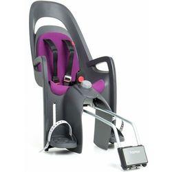 Fotelik Hamax Caress szaro-czarny, purpurowa wyściółka