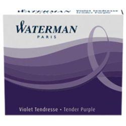 Naboje atramentowe Waterman International 6szt. fioletowe