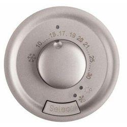 Plakietka termostatu Legrand Celiane 068540 pokojowego tytanowa