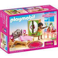 Klocki dla dzieci, Playmobil DOLLHOUSE Sypialnia 5309