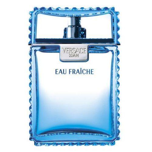 Testery zapachów dla mężczyzn, Versace Man Eau Fraiche woda toaletowa 100 ml tester dla mężczyzn