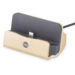 Stacja dokująca Forever iPhone DS-01 Gold (GSM023488) Darmowy odbiór w 21 miastach! - BEZPŁATNY ODBIÓR: WROCŁAW!