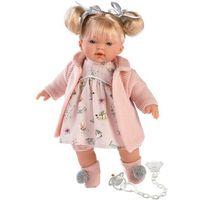 Lalki dla dzieci, Lalka płacząca Aitana cała różowa blondynka 33112 33 cm - DARMOWA DOSTAWA OD 199 ZŁ!!!