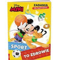 Książki dla dzieci, Miki. Zadania dla bystrzaków. Sport to zdrowie (opr. miękka)
