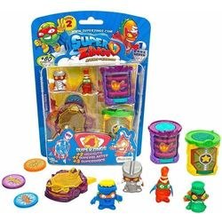 SuperZings 2 Hideout Kryjówka Zestaw 4 figurki Magic Box Toys