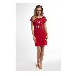 Koszula nocna Dolce Sonno - Tina - Czerwona - DWYL
