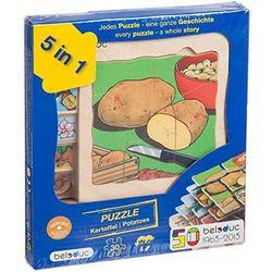 Puzzle - Ziemniak - zabawki dla dzieci