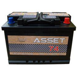 Akumulator Asset 12V 74Ah / 680 A wysoki