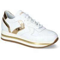 Damskie obuwie sportowe, Sneakersy Chebello 2710-059-335-PSK-S153 Białe Lico