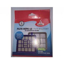 Filtr METROX HEPA13 + Filtr Wylotowy do odkurzaczy Zelmer