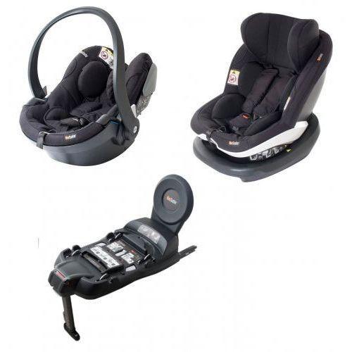 Bazy do fotelików, BeSafe Modular 3w1 / iZi Go M + iZi M + Baza / i-Size 0-18 kg - Czarny Cab