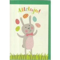 Pozostałe artykuły papiernicze, Karnet B6 Wielkanoc Żongler