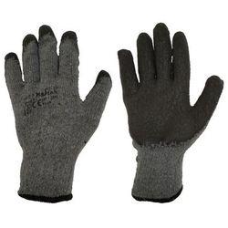 Rękawice ochronne r. L / 8 bawełniane z powłoką lateksową
