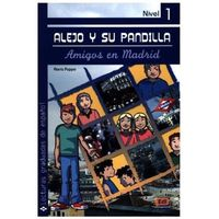 Książki do nauki języka, Amigos en Madrid (opr. miękka)