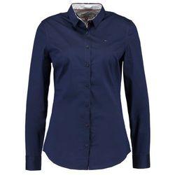 Tommy Jeans SLIM FIT SHIRT Koszula black iris