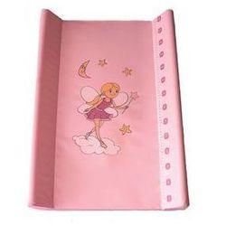 Mata, podkładka do przewijania Baby Sky miękka - różowy