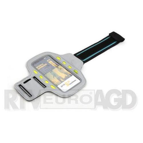 Etui i futerały do telefonów, Platinet Sports LED Armband 43709 (szary)