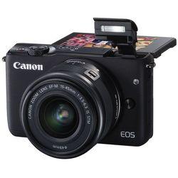 Aparat CANON EOS M100 Czarny + EF-M 15-45mm IS STM + irista 50GB Edycja limitowana