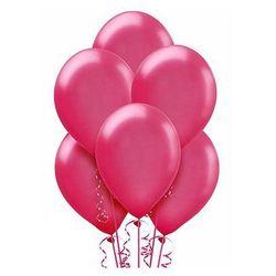 Balony lateksowe duże - 12 cali - fuksjowe - 25 szt.