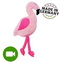 Pozostałe zabawki, Aumüller różowy flaming z walerianą i łuskami orkiszu - 1 sztuka | -5% Rabat na pierwsze zamówienie | DARMOWA Dostawa od 99 zł