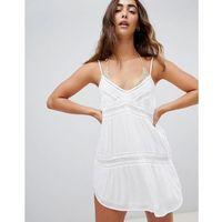 Stroje kąpielowe, Amuse Society Summer Light Beach Dress - White