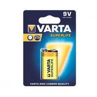 Pozostałe zasilanie do aparatów, Varta Bateria cynkowa 9V Superlife 1szt.